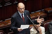 Vote of confidence to Enrico Letta government