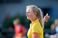 NIJMEGEN - 2017 Hoofdklasse dames<br /> Nijmegen v Hurley<br /> Foto: Scheidsrechter.<br /> WORLDSPORTPICS COPYRIGHT FRANK UIJLENBROEK