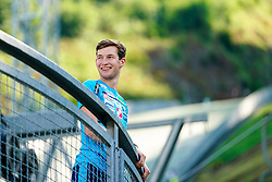Ziga Jelar during FIS Continental Cup Ski Jumping competition on normal hill individual, on the 5th of July 2019, Kranj, Slovenia. Photo by Matic Klansek Velej / Sportida