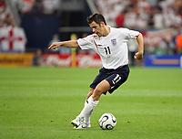Photo: Chris Ratcliffe.<br /> England v Portugal. Quarter Finals, FIFA World Cup 2006. 01/07/2006.<br /> Joe Cole of England.