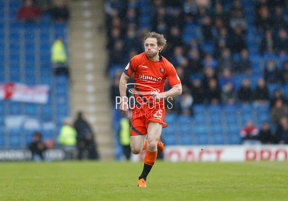 Wycombe Wanderers Craig Mackail-Smith(25) during the EFL Sky Bet League 2 match between Chesterfield and Wycombe Wanderers at the b2net stadium, Chesterfield, England on 28 April 2018. Picture by Paul Thompson.