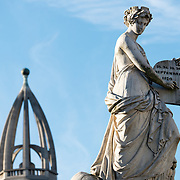 The name of the square and the monument at its center are dedicated to those who died in the Belgian Revolution of September 1830 that established an independent Kingdom of Brussels  after breaking away from the United Kingdom of the Netherlands.