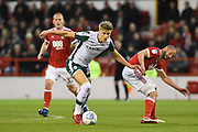 Barnsley's Brad Potts (20) during the EFL Sky Bet Championship match between Nottingham Forest and Barnsley at the City Ground, Nottingham, England on 24 April 2018. Picture by Jon Hobley.