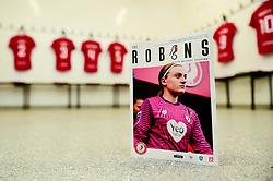 General views of the changing rooms prior to kick off - Mandatory by-line: Ryan Hiscott/JMP - 29/09/2019 - FOOTBALL - SGS College Stoke Gifford Stadium - Bristol, England - Bristol City Women v Chelsea Women - FA Women's Super League