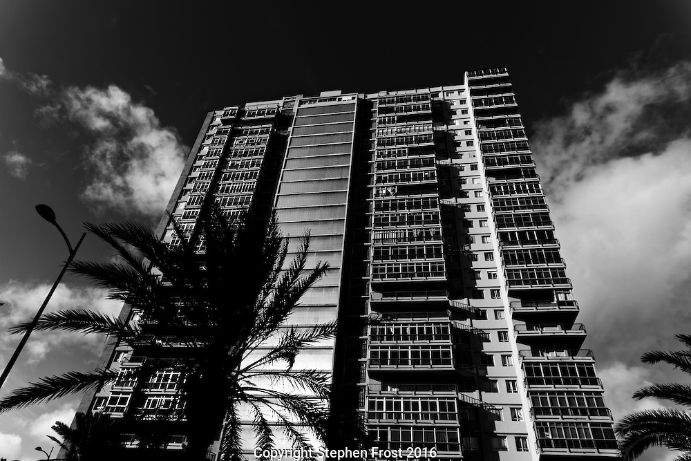Tower Block in Black and White