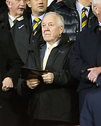 9th November 2017, Pittodrie Stadium, Aberdeen, Scotland; International Football Friendly, Scotland versus Netherlands; Former Scotland boss Craig Brown