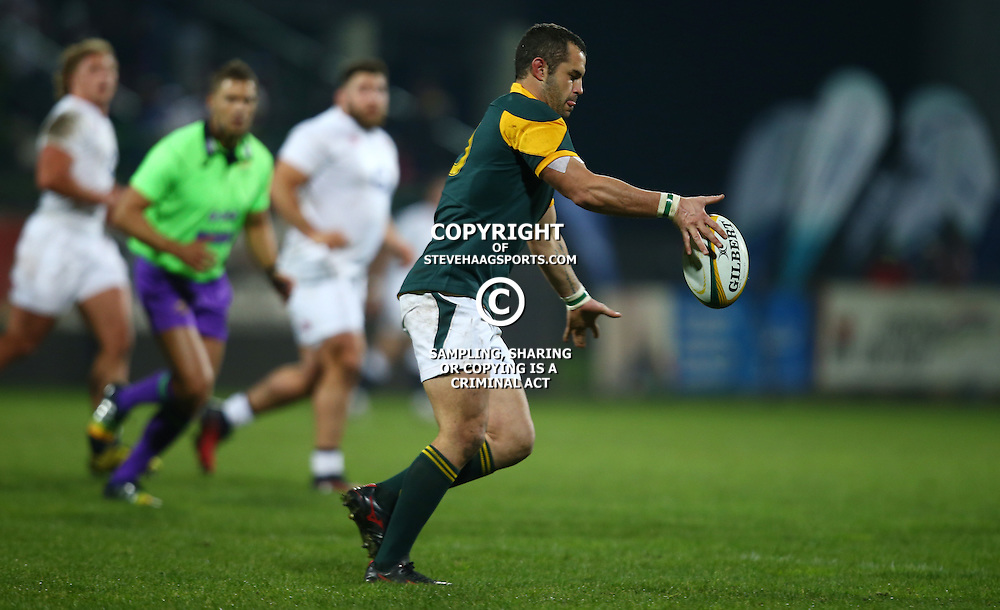 "George, SOUTH AFRICA, 17,June, 2016 - Francois Brummer of South Africa A during the South Africa ""A"" v England Saxons - 2nd match,Outeniqua Park in George,Southern Cape  South Africa (Photo by Steve Haag) - Images for Getty Images  - England Saxons."