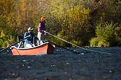 Photos of Anglers Fishing Rivers