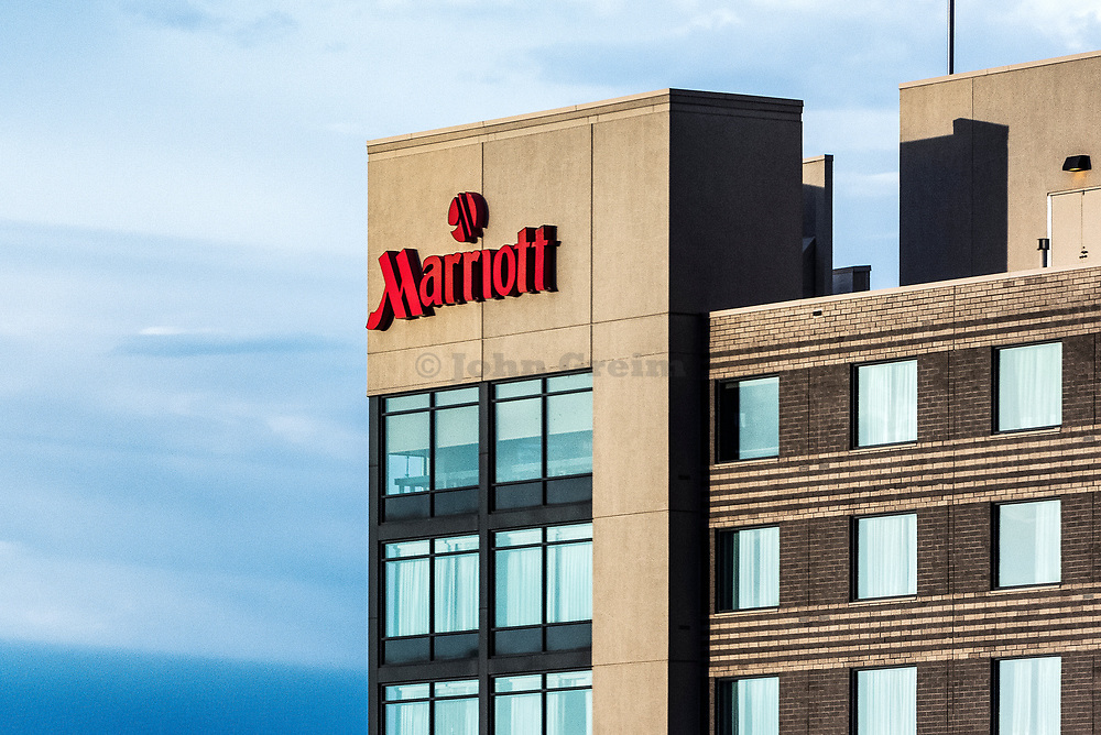 Marriott hotel, Aurora, Colorado, USA.