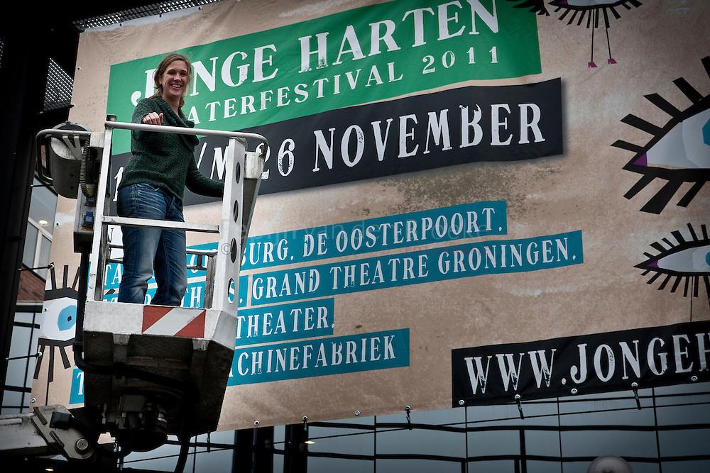 Groningen 20111115. Marga Kroodsma, directrice Jonge Harten festival. foto: Pepijn van den Broeke.