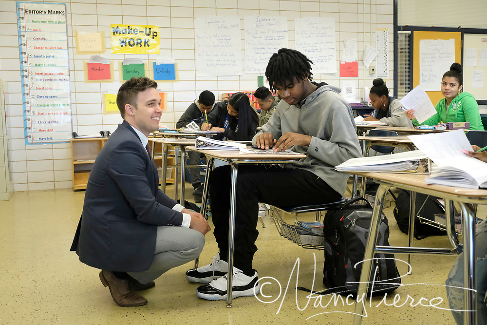 2018 Beacon  Learning Community Teacher of the Year Greg Ascciutto, Garinger High (English)