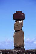 Moai (statue), Easter Island (Rapa Nui), Chile<br />