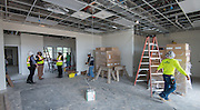 Construction at North Forest Early Childhood Center, May 18, 2016.