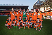 St.John's with the Dundee United Cup (sponsored by Arab Trust) after beating Grove in the final at Tannadice, Dundee<br /> <br /> <br />  - &copy; David Young - www.davidyoungphoto.co.uk - email: davidyoungphoto@gmail.com