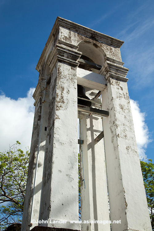 Bell Tower at the Galle Old Dutch Church - the oldest Protestant church in the island dating from 1752 although the original structure was built in 1640.  Built on the site of an earlier Portuguese Capuchin convent, the present structure was completed and consecrated in 1755