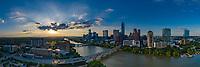 Austin Skyline from Congress Bridge