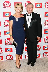 © Licensed to London News Pictures. 09/09/2013, UK.  Ruth Langsford; Eamonn Holmes, TV Choice Awards, The Dorchester Hotel, London UK, 09 September 2013 Photo credit : Richard Goldschmidt/Piqtured/LNP