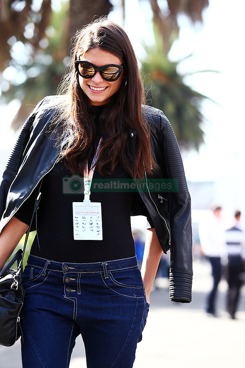 Linda Morselli, girlfriend of Fernando Alonso (ESP) McLaren.<br /> 29.10.2016. Formula 1 World Championship, Rd 19, Mexican Grand Prix, Mexico City, Mexico, Qualifying Day.<br /> Copyright: Batchelor / XPB Images / action press