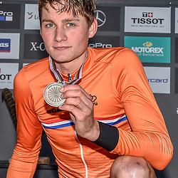 08-09-2018: Wielrennen: WK MTB Beloften: Lenzerheide <br /> Mathieu van der Poel (Netherlands)