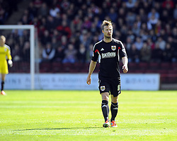 Bristol City's Wade Elliott  - Photo mandatory by-line: Joe Meredith/JMP - Mobile: 07966 386802 12/04/2014 - SPORT - FOOTBALL - Walsall - Banks' Stadium - Walsall v Bristol City - Sky Bet League One