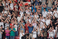 Photo: Leigh Quinnell.<br /> AFC Bournemouth v Swansea City. Coca Cola League 1. 14/04/2007. Swansea fans happy with the draw after the game.
