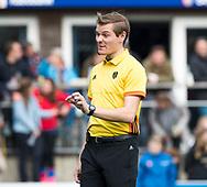 BILTHOVEN - hoofdklasse competitie heren SCHC-Pinoke.(1-4).   scheidsrechter Daniel Veerman .  COPYRIGHT KOEN SUYK