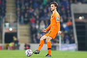 Netherlands defender Joel Veltman (2) during the UEFA European 2020 Qualifier match between Northern Ireland and Netherlands at National Football Stadium, Windsor Park, Northern Ireland on 16 November 2019.