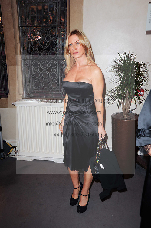 MEG MATTHEWS at the Inspiration Awards For Women held at Cadogan Hall, Sloane Terrace, London on 6th October 2010.