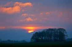 16jan17-Picardie Sunset