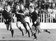 New Zealand vs Italy. John Kirwin on burst from the start of the 60 meter mark and dash for a try. Date unknown , Photo: Norman Smith.