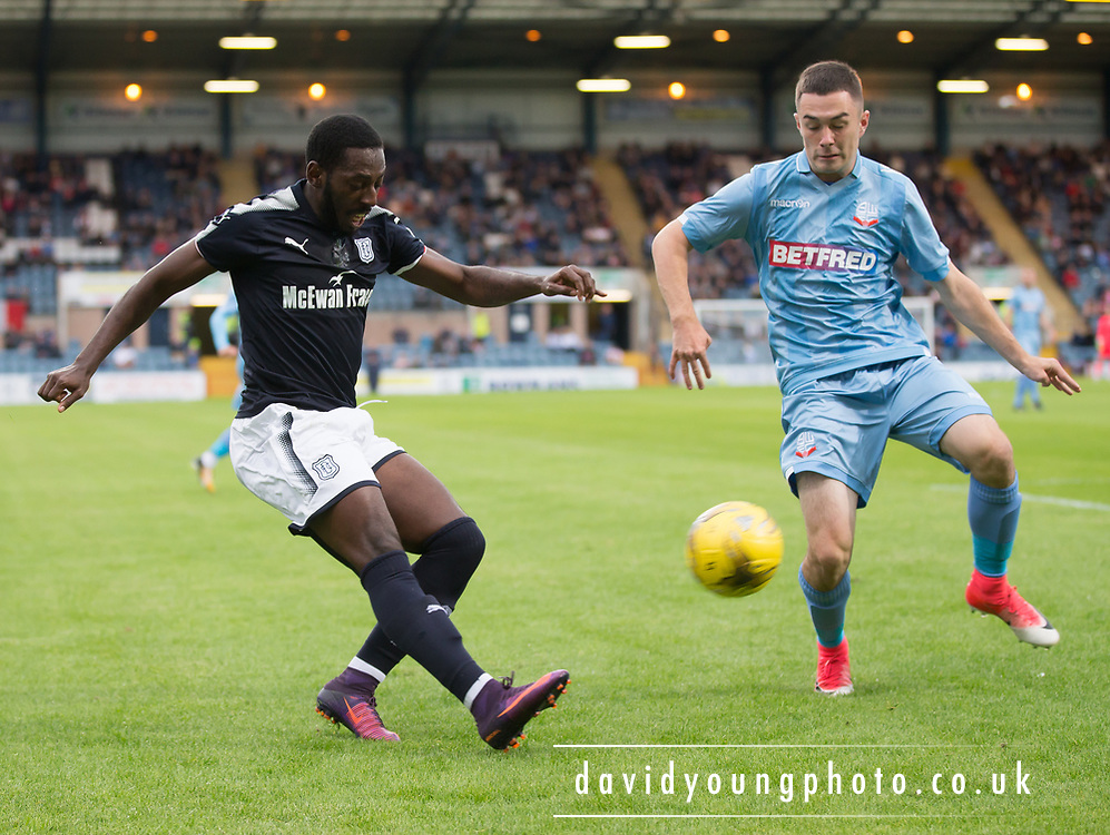 Dundee's Roarie Deacon - Dundee v Bolton Wanderers pre-seson friendly at Dens Park, Dundee, Photo: David Young<br /> <br />  - © David Young - www.davidyoungphoto.co.uk - email: davidyoungphoto@gmail.com