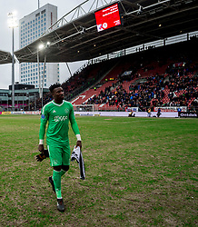 28-01-2018 NED: FC Utrecht - AFC Ajax, Utrecht<br /> Andre Onana #1 of Ajax
