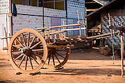 Old wooden cart (Myanmar)