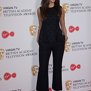 Michelle Keegan attend the Virgin TV BAFTA TV Nominations Press Conference, London, UK - 04 April 2018 at BAFTA, Piccadilly, London, UK.