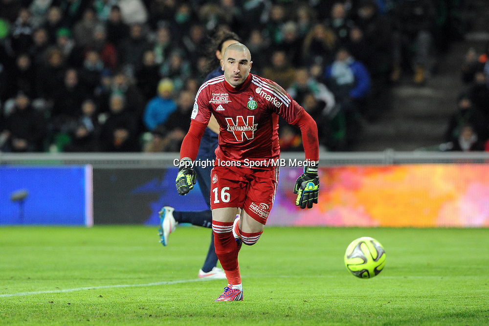 Stephane RUFFIER - 25.01.2015 - Saint Etienne / PSG  - 22eme journee de Ligue1<br />