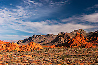 Valley of Fire State Park Scenic Landscape, Nevada