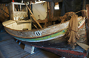 A, Norway.  Fishing museum - old fishing boat.