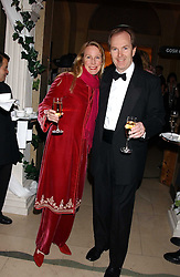 JOHN and JANE BAKER at A Riot - 1930's evening in aid of Great Ormand Street Hospital held at Claridge's, Brook Street, London on 31st January 2006.<br /><br />NON EXCLUSIVE - WORLD RIGHTS