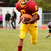 riordan #6 - demetrius williams Riordan v. Lincoln football - 091212