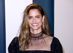 February 9, 2020, Beverly Hills, CA, USA: BEVERLY HILLS, CALIFORNIA - FEBRUARY 9: Amanda Peet attends the 2020 Vanity Fair Oscar Party at Wallis Annenberg Center for the Performing Arts on February 9, 2020 in Beverly Hills, California. Photo: CraSH/imageSPACE (Credit Image: © Imagespace via ZUMA Wire)