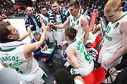 Time out Zalgiris Kaunas, AX ARMANI EXCHANGE OLIMPIA MILANO vs ZALGIRIS KAUNAS, EuroLeague 2017/2018, Mediolanum Forum, Milano 9 novembre 2017 - FOTO Bertani/Ciamillo-Castoria