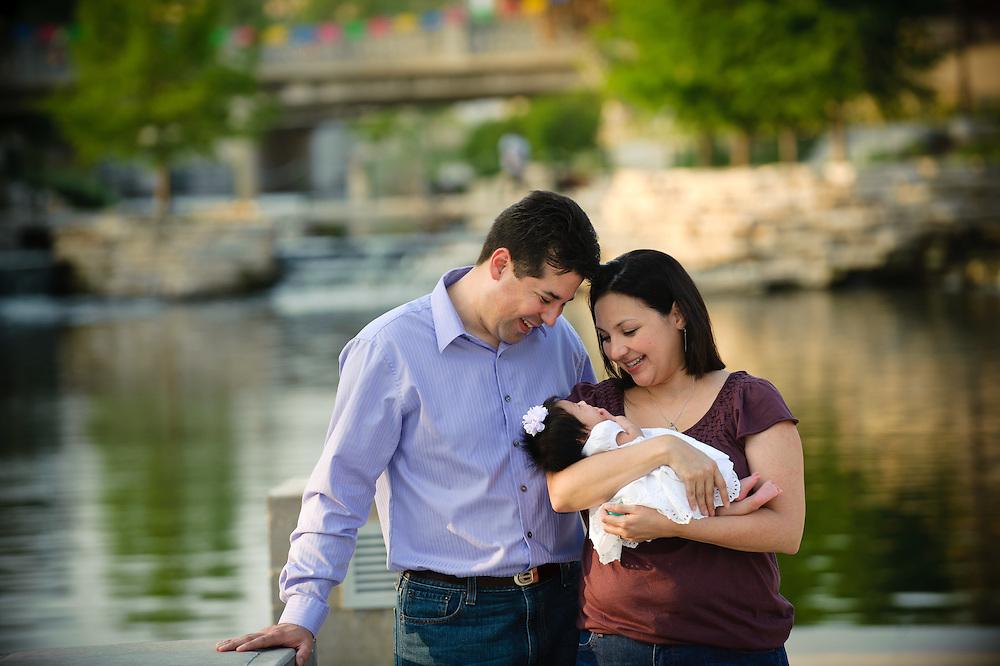 Gavia family portrait Sunday, April 17, 2011 in San Antonio..Photo © Bahram Mark Sobhani