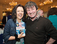 "Michael  at the launch of Ronan Scully's New booke ""Time Out"" An Innovative collaboration of words, reflections and stories of goodness, tenderness and positivity for all our lives combine to great effect in this new publication published by Ballpoint Press. Picture:Andrew Downes"
