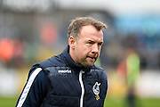 Bristol Rovers Assistant Manager, Marcus Stewart during the EFL Sky Bet League 1 match between Bristol Rovers and Scunthorpe United at the Memorial Stadium, Bristol, England on 25 February 2017. Photo by Adam Rivers.