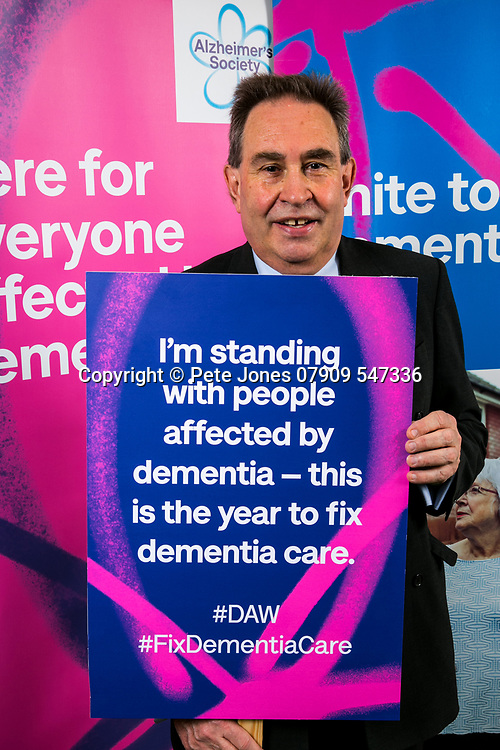 """David Drew MP;<br /> Alzheimer's Society;<br /> """"Fix Dementia Care & State of the Nation""""<br /> Parliamentary report Launch;<br /> Houses of Parliament, Westminster.<br /> 23rd May 2018.<br /> <br /> © Pete Jones<br /> pete@pjproductions.co.uk"""