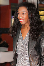 Odeon West End, London, June 16th 2014. Beverley Knight arrives at the Odeon West End in Leicester Square, London, for the gala Screening of Clint Eastwood's big screen version of the Tony Award winning musical Jersey Boys.