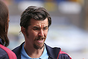Burnley midfielder Joey Barton (13)  during the Sky Bet Championship match between Huddersfield Town and Burnley at the John Smiths Stadium, Huddersfield, England on 12 March 2016. Photo by Simon Davies.