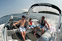 Morin's and DiGangi's on Lake Winnipesaukee August 17, 2012.