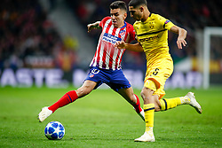 November 6, 2018 - Madrid, MADRID, SPAIN - Correa of Atletico de Madrid and Thomas Delaney of Borussia during the UEFA Champions League football match between Atletico de Madrid and Borussia Dormund on November 06th, 2018 at Estadio Wanda Metropolitano in Madrid, Spain. (Credit Image: © AFP7 via ZUMA Wire)
