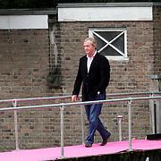 NLD/Amsterdam/20080907 - Gasten van het huwelijksfeest Nina Brink en Pieter Storms Frank Wentink
